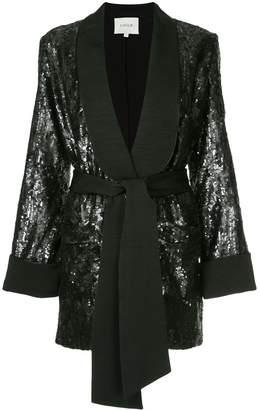 LAYEUR Renee sequin embellished blazer