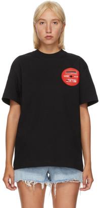 Alexander Wang Black Saw Blade T-Shirt