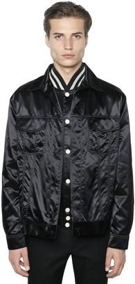 Calvin Klein Collection Techno Satin Shirt Jacket