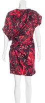Peter Pilotto Silk Abstract Print Dress