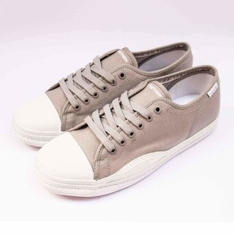 Tretorn Racket Canvas Shoes Grey/White - 38