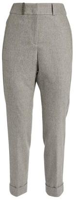 Peserico Chain-Detail Slim Trousers