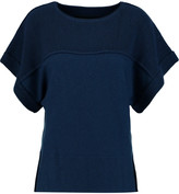 By Malene Birger Lonsdala paneled wool and cashmere-blend top