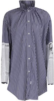 Balenciaga Long sleeved striped shirt