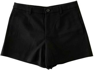 Uniqlo Black Wool Shorts for Women