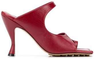 Bottega Veneta Square-Toe 90mm Sandals