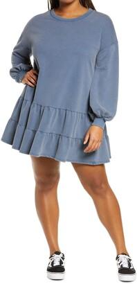 BP Drop Waist Long Sleeve Babydoll Dress
