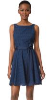 BB Dakota Ty Eyelet Trim Dress