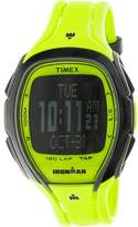 Timex Men's Ironman Sleek TW5M00400 Yellow Resin Quartz Sport Watch