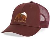 Patagonia Men's Eat Local Upstream Trucker Hat - Red