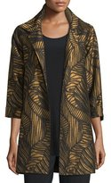 Caroline Rose Waves Jacquard Party Jacket, Petite