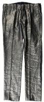 Paul Smith Metallic Linen Pants