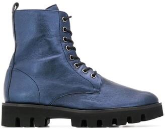 Högl Flat Lace-Up Boots