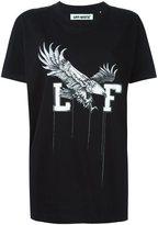 Off-White white eagle print T-shirt