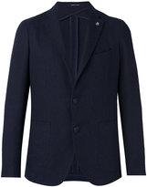 Tagliatore Montecarlo jacket - men - Cotton/Linen/Flax/Polyamide/Cupro - 54