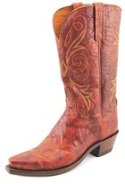 Lucchese N9633 Women C Pointed Toe Leather Western Boot.