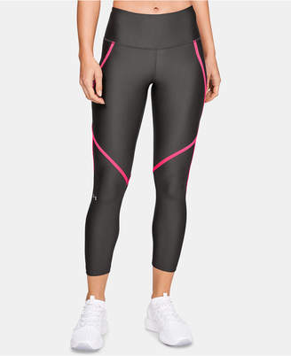 Under Armour Women HeatGear Armour Ankle Crop Edgelit