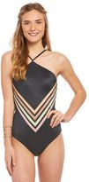 Reef Vintage Vibes High Neck One Piece Swimsuit 8152311