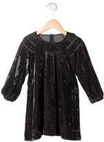 Little Marc Jacobs Girls' Crushed Velvet Dress