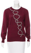 Christopher Kane Embroidered Cashmere Sweater