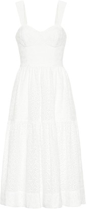 Rebecca Vallance Valentina cotton midi dress