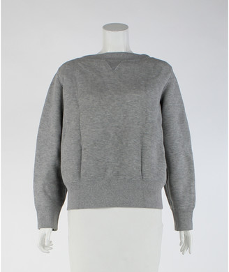 Sacai Grey Cotton Jumpsuits