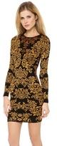 Torn By Ronny Kobo Bouquet Jacquard Mammie Dress