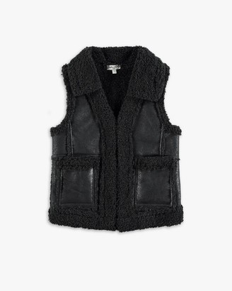 Splendid Little Girl Leather Vest