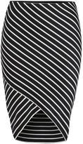 Dex Stripe Tube Skirt