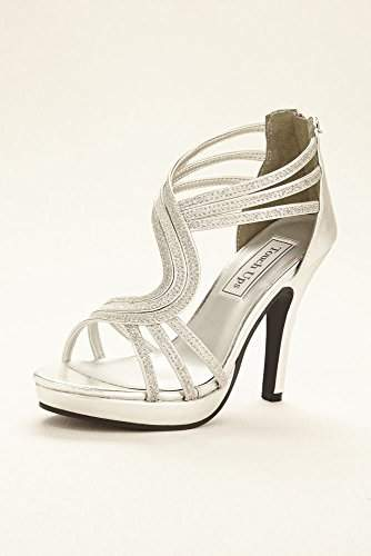 Touch Ups Glitter Platform Sandal by Style Tuesday