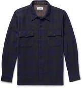 Chimala Buffalo-Checked Cotton-Twill Shirt