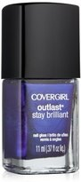 Cover Girl Outlast Stay Brilliant Nail Gloss, Eternal Oceans 305, 0.37 Ounce by