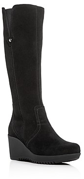 La Canadienne Women's Grace Waterproof Wedge Platform Boots