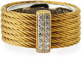 Alor Classique Multi-Row Ring w/ Diamond Pavé, Size 7