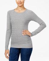 Energie Juniors' Willow Textured-Stripe Sweater