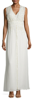 French Connection Broadway Lights Embroidered Maxi Dress