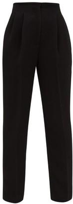 Emilia Wickstead Gus Tailored High-rise Trousers - Black