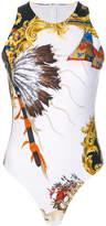 Versace Native Americans bodysuit