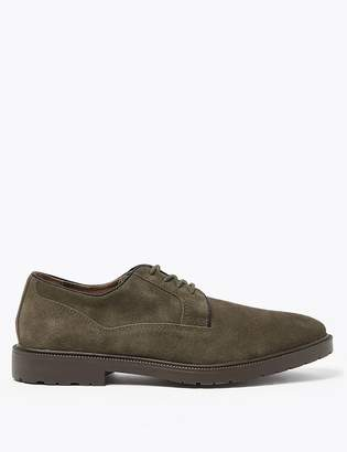 M&S CollectionMarks and Spencer Suede Heavyweight Derby Shoes