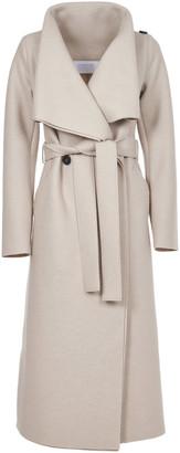 Harris Wharf London Double-breasted Long Coat