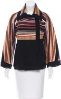 Missoni Striped Wool Jacket
