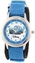 Disney Kids' W000096 Cars Stainless Steel Time Teacher Watch
