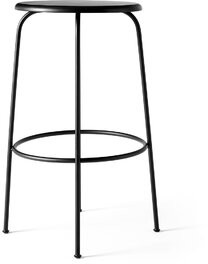 """Menu Afteroom Bar & Counter Stool Color: Black, Upholstery: Black Wood, Seat Height: Bar Stool (29.5"""" Seat Height)"""