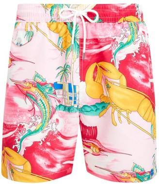 Polo Ralph Lauren Nautical Print Swim Trunks