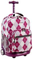 "J World JWorld 18"" Sunrise Rolling Backpack"