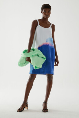Cos Sleeveless Printed Dress
