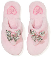 Peter Alexander peteralexander Girls Sequin Bow Thongs