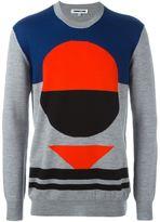 McQ by Alexander McQueen Block Geo intarsia jumper - men - Wool - S