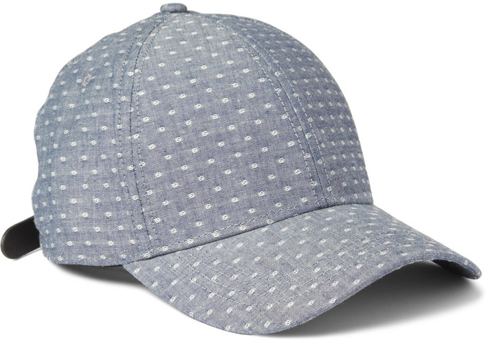 Rag and Bone Rag & bone Cotton-Dobby Baseball Cap