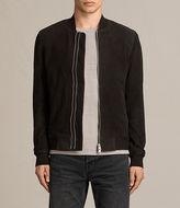 AllSaints Tally Leather Bomber Jacket